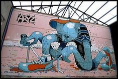 Image result for Aryz Street Art