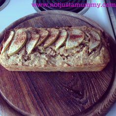 Healthy Apple And Cinnamon Loaf www.notjustamummy.com.au