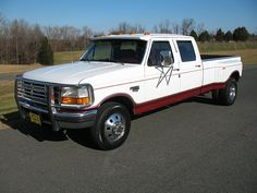 1996 Ford F350 Crew Cab Long Bed Dually Diesel Truck