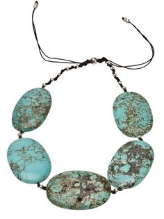 BLACK DAKINI Tibetan Turquoise Necklace