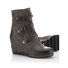 I have the boot version... ohhh how I love!  SOREL | Women's Joan of Arctic Wedge™ Mid Boot