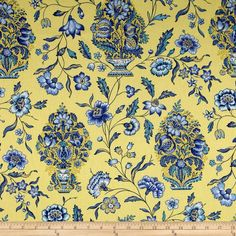 Waverly Eugene Bluebell From Fabric 12 98 Per Yard Curtains