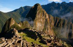 Machu Picchu, a 15th-century Inca archaeological site