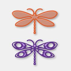 Couture Creations Dies Van Roe Collection - Dragonfly Set