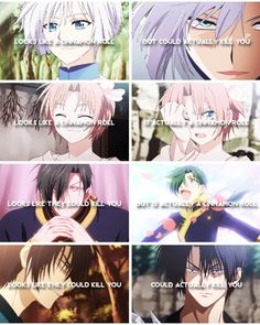 Akatsuki no Yona / Yona of the dawn anime and manga || Cinnamon rolls >\\<