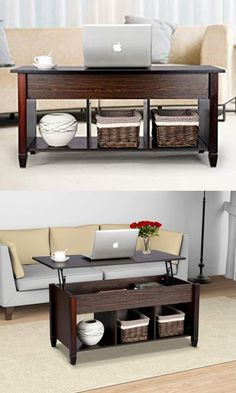 c3e2357c05099 5 Amazing Dark Wooden Mid-Century Modern Coffee Tables for your Living Room  - DYNKdecor