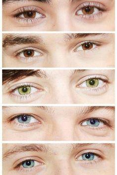 stunning look of their eyes!