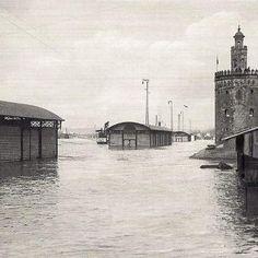 Inundación en Sevilla en 1936