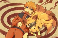 Most popular tags for this image include: naruto and kurama