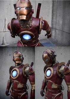 Amazing Steampunk Iron Man Cosplay on Global Geek News.