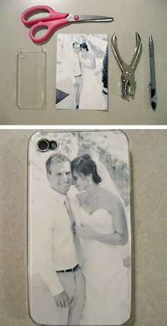diy iphone case! @Melinda Gilbert McCullars here is how you can do that Grey pic for your phone