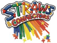 Straws and Connectors - Kiddos play with these for hours! Fun for adults too.