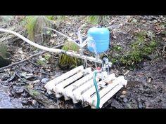 Ученые физики в шоке! Насос качает воду без электричества, этого не может быть - YouTube
