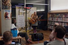 On Saturday 20 September, Ashfield Library was abuzz with superhero activity and comic conversation, at their first ever comic convention. Geek pop singer-songwriter Meri Amber performed.