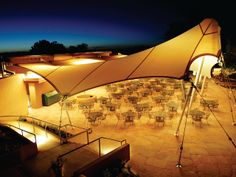Best Tensile Fabric Shade Structure - BAIT AL NOKHADA