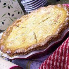 Turkey Pot Pie II Allrecipes.com