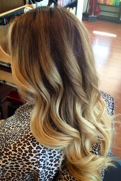 Blonde ombre this is perfect--whaddya think for next hair appt Britt? :)