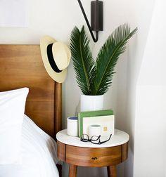 nightstand styling | designlovefest