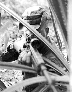 Adelbert F. Waldron is on this list as he held the highest number of conformed kills for any American Sniper in history until the deployment of Chris Kyle. With a 109 Confirmed Kills, Waldron is also one of the most accurate Snipers ever deployed. Waldron served during the Vietnam War in and around the Mekong River. His most impressive kill came while aboard a Tango Boat where he killed a Vietcong Soldier hiding in a coconut tree with one shot over 900 meters away while in motion.