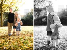 fall autumn family photo session kids