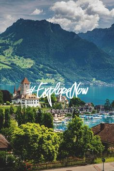 Thun, Switzerland. #ExploreNow