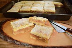 placinta-cu-mere-cu-foietaj-simplu-de-casa-7 Sweets Recipes, Desserts, Cornbread, Caramel, French Toast, Breakfast, Ethnic Recipes, Food, Pie