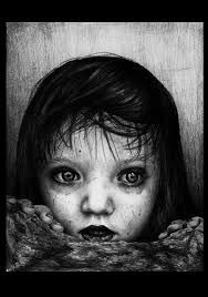 Image result for scary children pics