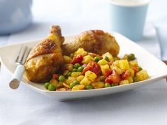 Indian-Style Curry Chicken