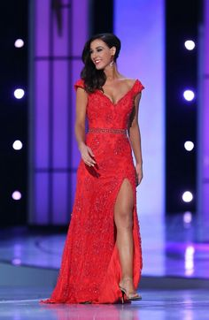 Miss Utah 2014 Karlie Major Miss America Evening Gown