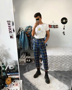 streetwear fashion daniel grannt on Insta - fashion Alternative Fashion Indie, Alternative Mode, Indie Outfits, Fashion Outfits, Fashion Fashion, Basic Outfits, Trendy Outfits, Cool Outfits, Soft Grunge Outfits