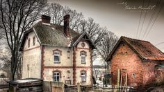 The House in Osie, Bory Tucholskie HDR by Geodeta_31, via Flickr