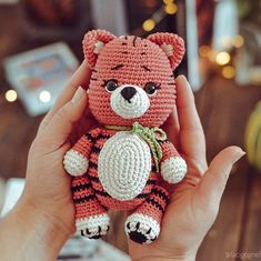 Excited to share the latest addition to my #etsy shop: Crochet tiger pattern - Amigurumi tiger toy pattern - Nursery decor - Baby shower gift ideas - LaCigogne design #babyshower #crochettigertoy #crochettiger #tigerpattern #diytigertoy #amigurumitigertoy Crochet Bee, Crochet Gifts, Cute Crochet, Diy Crochet Animals, Nursery Patterns, Crochet Christmas Trees, Handmade Ideas, Amigurumi Toys, Crochet Patterns Amigurumi