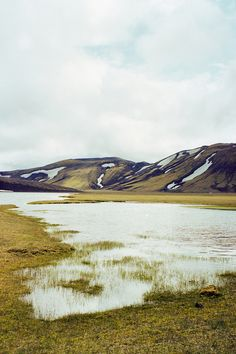 The Icelandic landscape