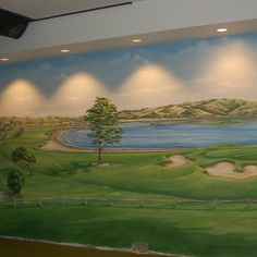 Golf Course Murals