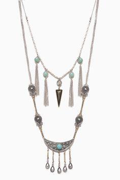 ShopSosie Style : Silverlake Layered Necklace