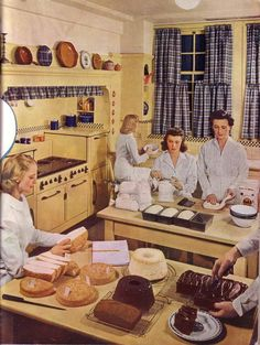 Cooking Kitchen - c. 1940