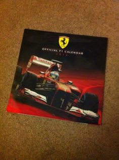 Official formula 1 2014 calendar f1 #racing #motor sport ferrari gift #present,  View more on the LINK: http://www.zeppy.io/product/gb/2/161992138638/