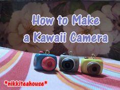 How To Make a Kawaii Camera - Polymer Clay Tutorial