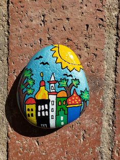 Rock Painting Patterns, Rock Painting Ideas Easy, Rock Painting Designs, Pebble Painting, Pebble Art, Stone Painting, Painted Rocks Craft, Hand Painted Rocks, Painted River Rocks
