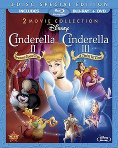 Cinderella II: Dreams Come True  Cinderella III [Blu-ray]