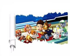 FangeplusTM DIY Removable Paw Patrol Art Mural Vinyl Waterproof Wall Stickers Kids Room Decor Nursery Decal Sticker ** Check out this great product. (This is an affiliate link). Kids Room Wall Stickers, Floor Stickers, Window Stickers, Paw Patrol Wall Decals, Dinosaur Kids Room, Nursery Decals, Wall Fans, Dog Toys, Toy Chest