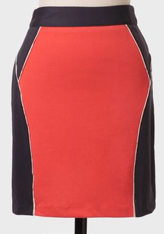 Amanda Colorblocked Miniskirt at #Ruche @shopruche