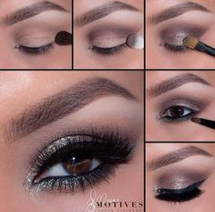 Get the look - gorgeous glitter tutorial!Tag a friend who would love this look!