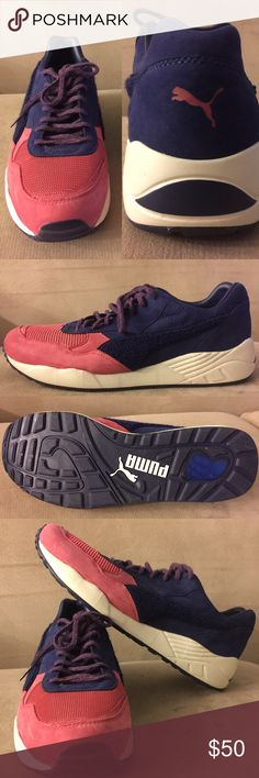 BWGH by PUMA  Man's size 11,, Model :XS 698x Brand New no BOX. Never been used. Gorgeous pink and blue color. Puma Shoes Athletic Shoes