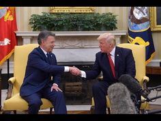 Trump Welcomes Colombian President Q&A Before Bilateral Meeting