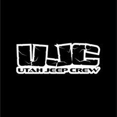 Utah Jeep Crew Logo Vinyl Decal Sticker 8