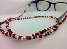 Moriarty Morse Code Eye Glasses Reading Chain by AnonymousSong