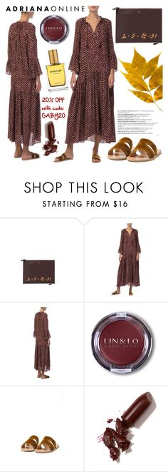 """""""ADRIANA ONLINE: Gypsy style"""" by gaby-mil ❤ liked on Polyvore featuring Bertoni, Ulla Johnson, Ancient Greek Sandals, LAQA & Co., Strangelove NYC and Balmain"""