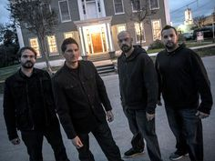 Ghost Adventures: Jay, Zak, Aaron and Billy.