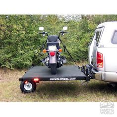 http://www.motorcyclemaintenancetips.com/trailerhitchmountedmotorcyclecarriers.php MotorcycleMaintenanceTips.com has some info on how to locate a carrier in order to easily transport a motorcycle from place to place.